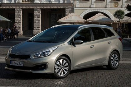Kia cee'd SW 1.6 CRDI DCT Exclusive